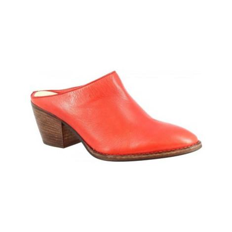 Leonardo Shoes Z161 AMERICA ROSSO Červená