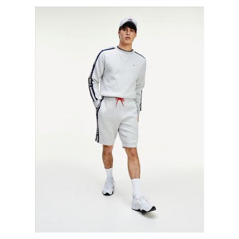Tommy Jeans pánské šedé teplákové šortky
