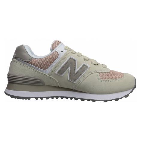 Dámská obuv New Balance WL574WNA Béžová / Růžová