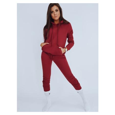 Sweatshirt set DRESSLILY for women maroon AY0139 DStreet
