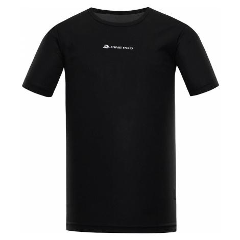 ALPINE PRO NASMAS 3 Pánské funkční triko MTST463990 černá