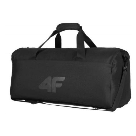 4F TRAVEL BAG černá - Cestovní taška