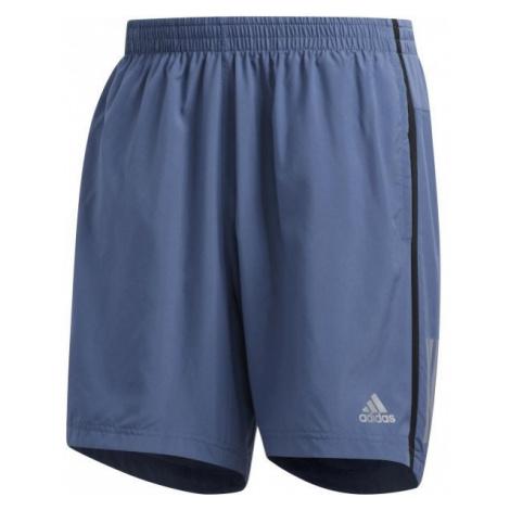 adidas OWN THE RUN SHO modrá - Pánské kraťasy