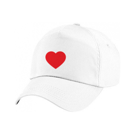 Dětská kšiltovka Jednoduché srdce