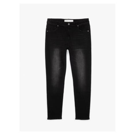 GATE Základní džíny straight fit