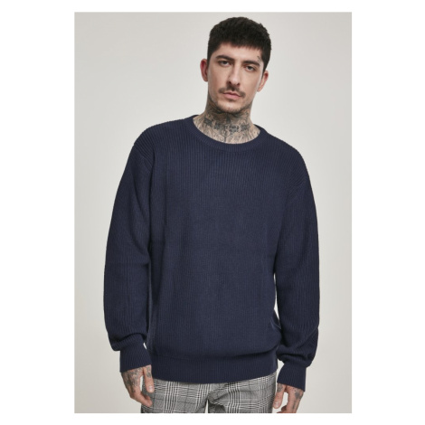 Cardigan Stitch Sweater - midnightnavy Urban Classics