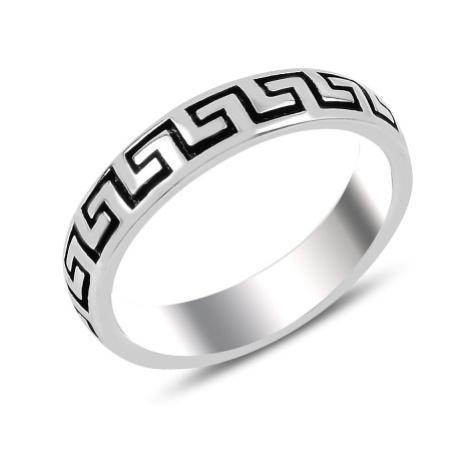 OLIVIE Pánský stříbrný prsten 3719
