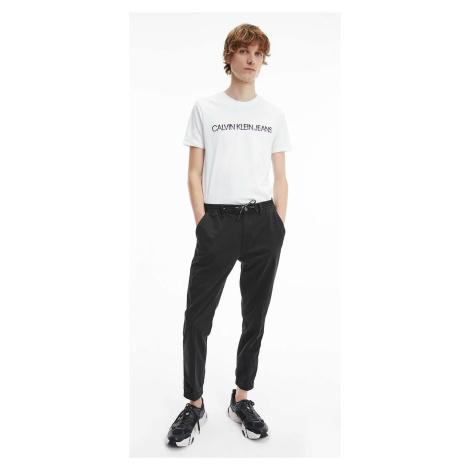 Calvin Klein pánské černé kalhoty Chino