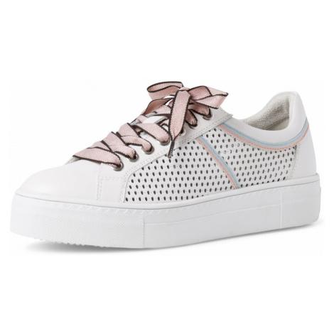 1-23500-26 Dámské boty 160 bílá Tamaris