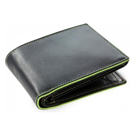 Černo zelená pánská kožená peněženka Marston Arwel