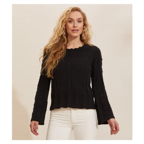 Svetr Odd Molly Selma Sweater - Černá