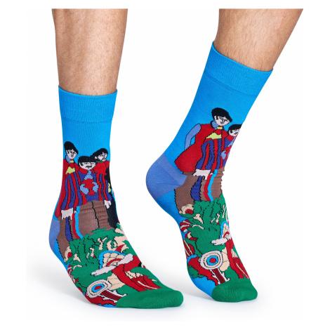Barevné ponožky Happy Socks se vzorem Pepperland x The Beatles