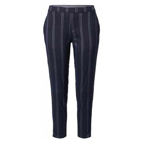 ZABAIONE Chino kalhoty 'Marion' námořnická modř / světlemodrá
