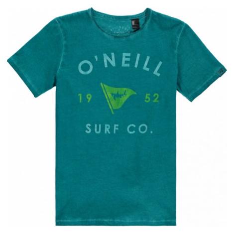 O'Neill LB SHARK ATTACK T-SHIRT zelená - Chlapecké tričko