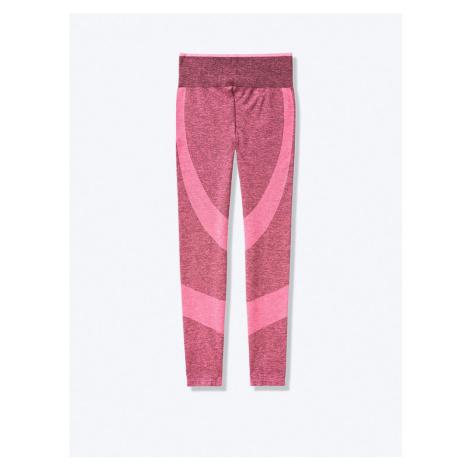 Victorias Secret PINK růžové bezešvé legíny Seamless Workout Tight M Victoria's Secret