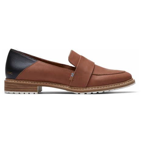 Hazel Leather Women Mallory Flat Toms