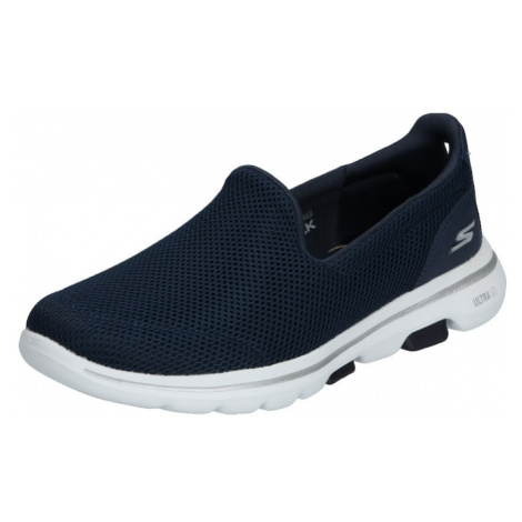 SKECHERS Slipper 'GO WALK 5' námořnická modř / bílá
