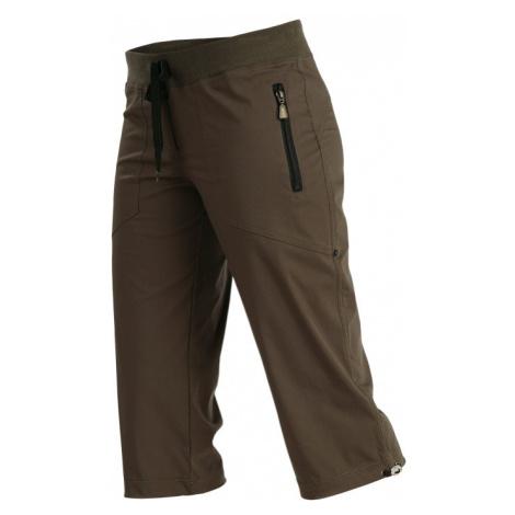 LITEX Kalhoty dámské v 3/4 délce bokové. 99583414 hnědá
