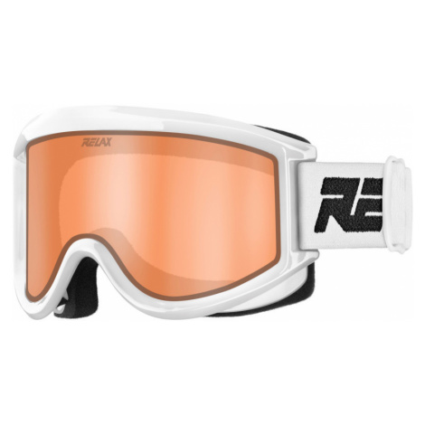 RELAX BASE Lyžařské brýle HTG64A bílá univerzální