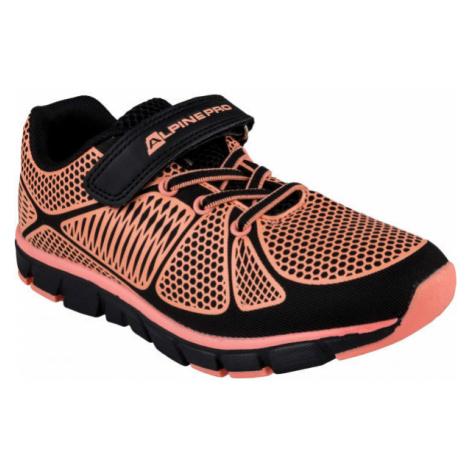 ALPINE PRO FISCHERO oranžová - Dětské volnočasové boty