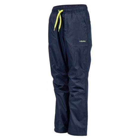 Lewro ZOWIE zelená - Dětské zateplené kalhoty