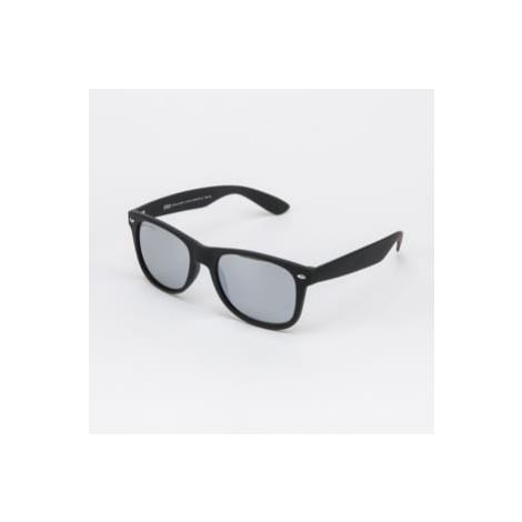 Urban Classics Sunglasses Likoma Mirror UC černé / stříbrné