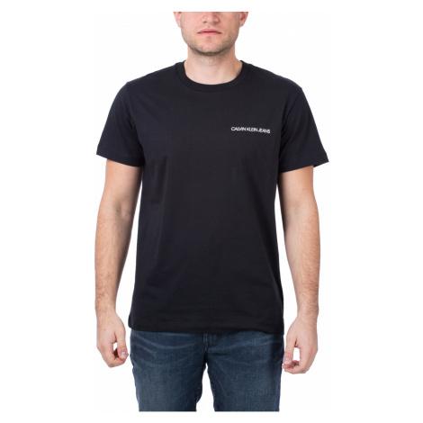 Calvin Klein Calvin Klein pánské černé tričko BACK MONOGRAM SS T-SHIRT