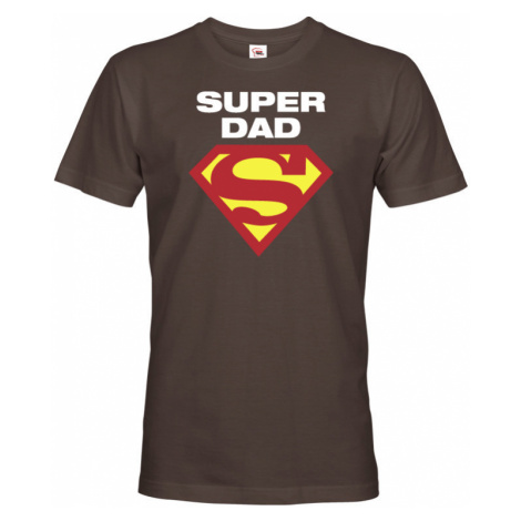 Vtipné tričko pro super tatínky Super Dad - super Táta BezvaTriko