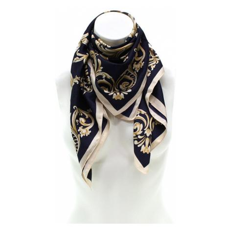 Tmavě modrý dámský módní šátek s motivem Shawntel Jordan (PL)