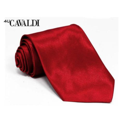 Pánská kravata Cavaldi Bissau, červená