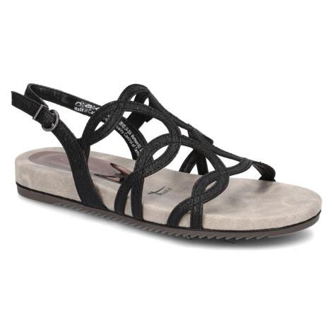 TAMARIS klasické sandály černá