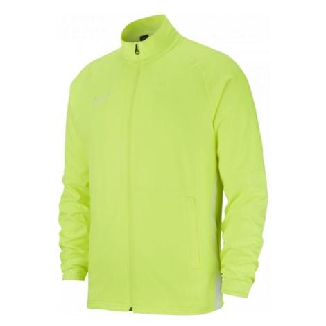 Dětská bunda Nike Academy 19 Žlutá / Stříbrná
