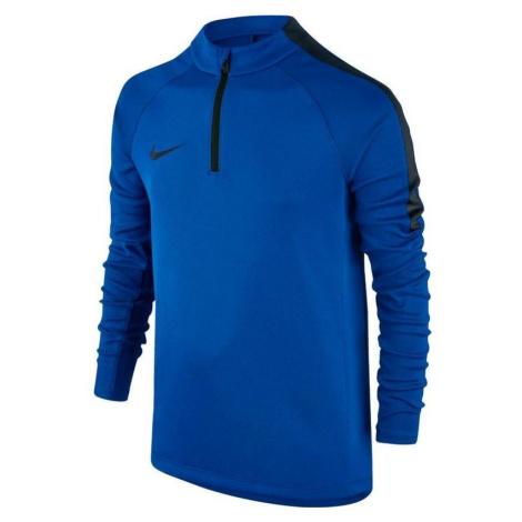 Dětská mikina Nike Squad Football Drill Top Modrá