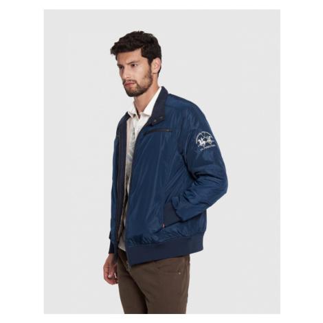Bunda La Martina Man Jacket Nylon - Modrá