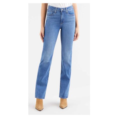 Levi´s® jeans 725 High Rise Bootcut Rio Rave dámské modré
