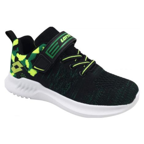 Lotto POLO zelená - Dětská volnočasová obuv