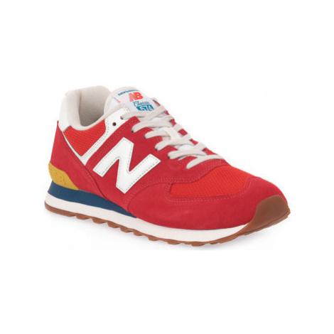 New Balance ML574HA2 Červená