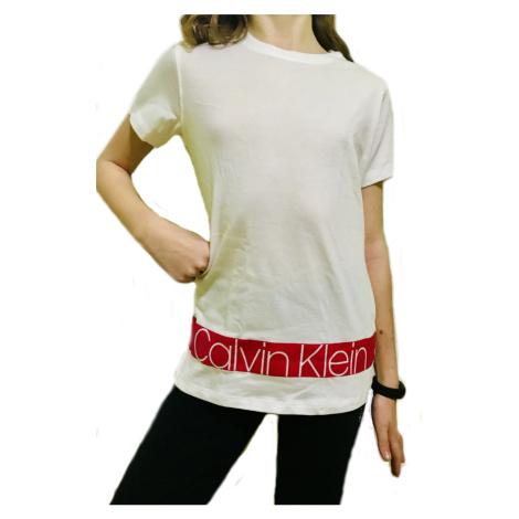 Dívčí tričko Calvin Klein 800212 | bílá