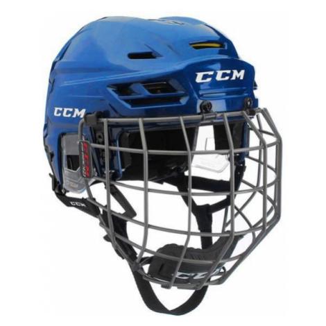 CCM TACKS 310C SR COMBO modrá - Hokejová helma