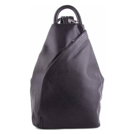 Černý moderní dámský batoh Zastien Mahel