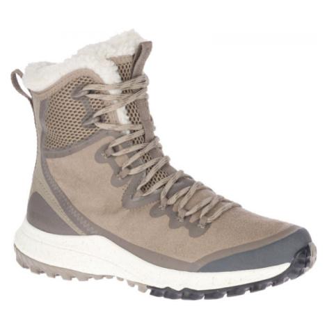 Merrell BRAVADA PLR WP šedá - Dámské zimní boty