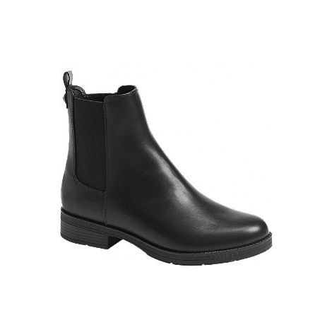Černá Chelsea obuv Graceland