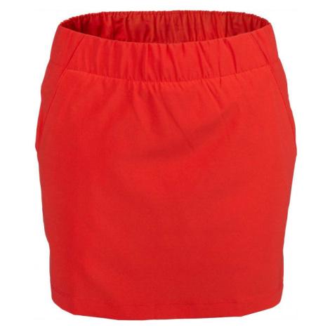 Columbia CHILL RIVER SKORT červená - Dámská kraťasová sukně