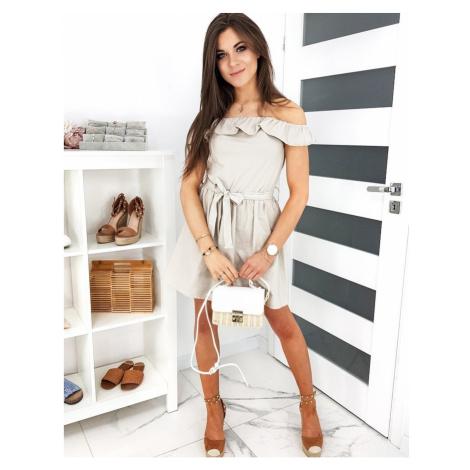 ESPANIA beige dress EY1269 DStreet