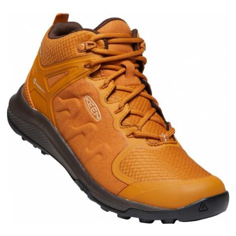 Dámské boty Keen Explore Mid WP W pumpkin spice/mulch UK