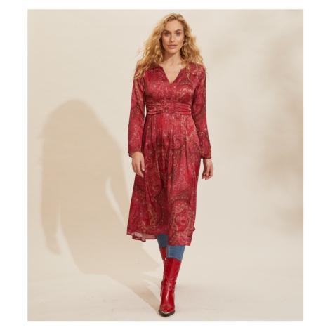 Šaty Odd Molly Amélie Long Dress - Červená