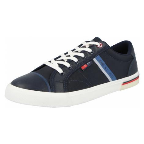 H.I.S Tenisky modrá / mix barev