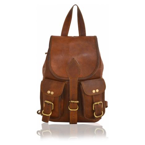 Kožený batoh Niké