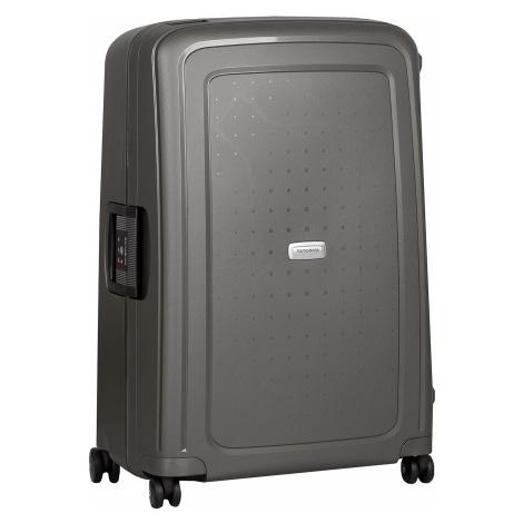 Černý kufr na kolečkách Samsonite