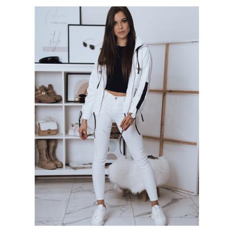 YOUNG women's windbreaker jacket white TY1816 DStreet